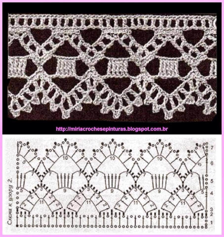 Irish crochet Ornaments Simple paterns Zasłonki ... | Patrones De ...