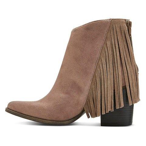 Women's Delaney Fringe Western Boots @target | Jewelry, Bags ...