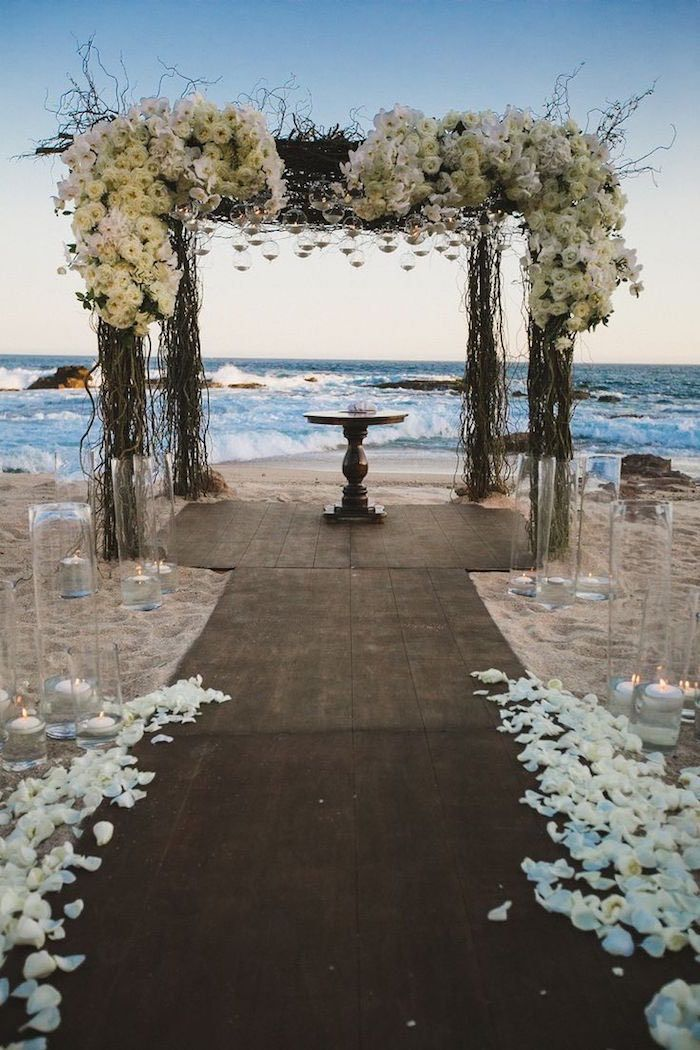 Brides Dreaming Of The Perfect Beach Wedding Have Come To Right Place There S Nothing More Stunning Than A Beautiful Ceremony Perfected By Gorgeous