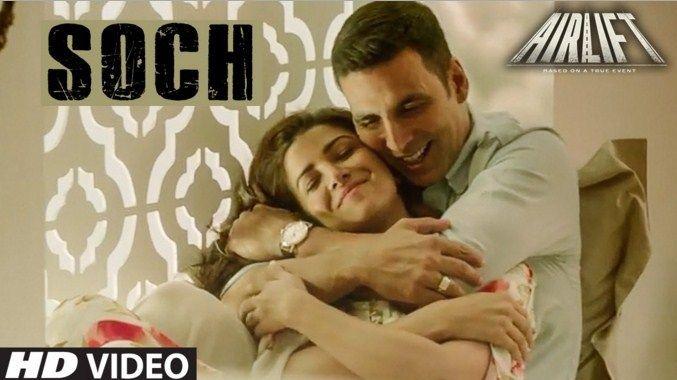 Akshay Kumar & Nimrat Kaur\'s Cute Romance in Soch Na Sake Song ...
