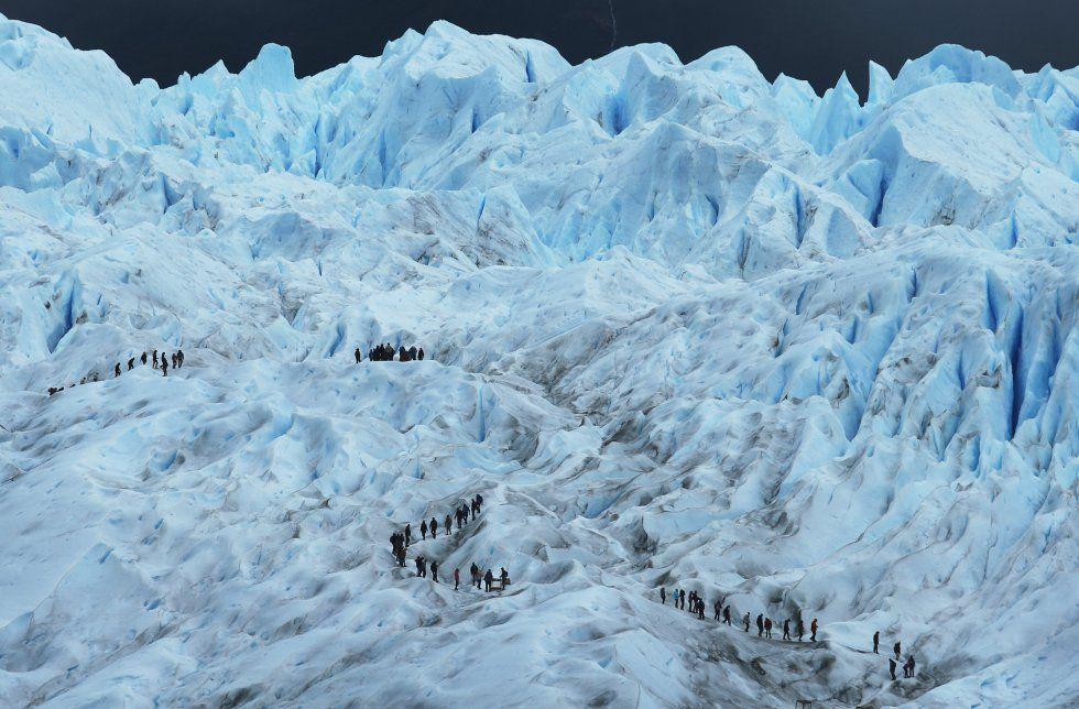 El campo de hielo Patagónico Sur es el tercer mayor campo de hielo en el mundo