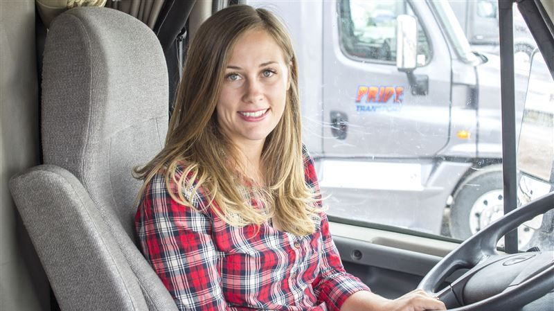 GAT Blog: Real Truckers Blogs | Women truck driver, Female trucks, Trucks and girls