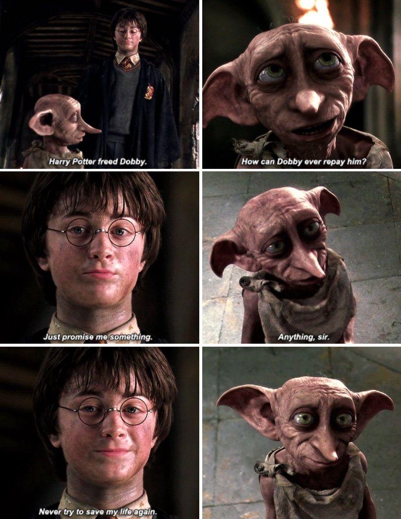 Noooooo Harry Potter Scene Kreacher Harry Potter Harry Potter Memes