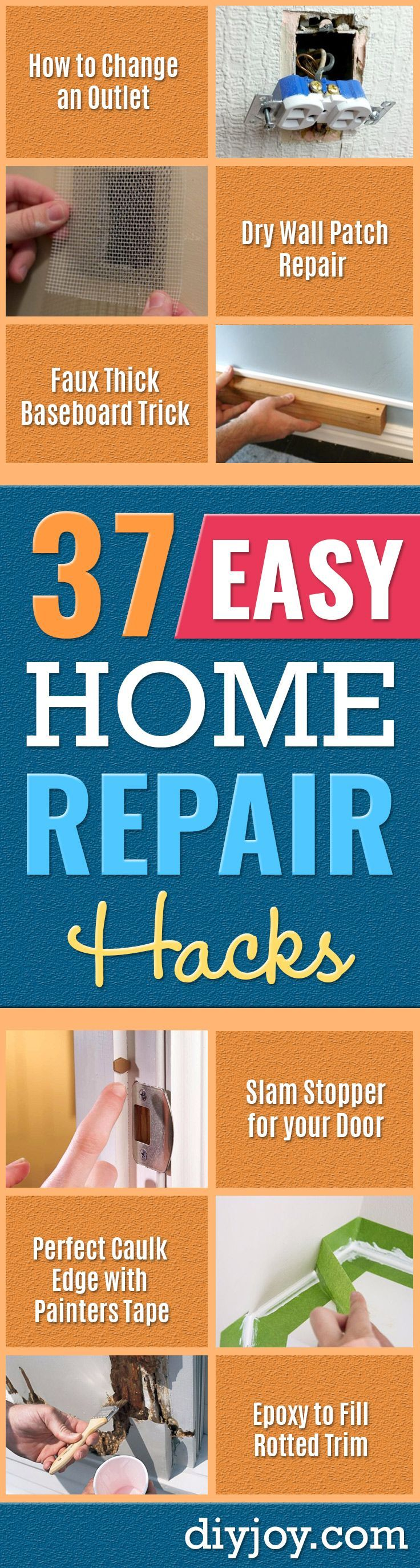 easy home repair hacks quick ways to fix your home with cheap and