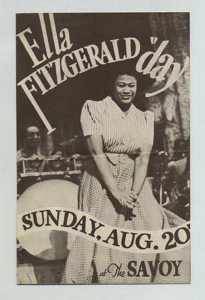 Ella Fitzgerald Swings