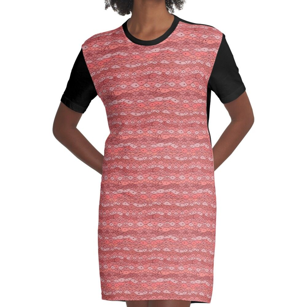 22+ Smooth Muscle Tissue Graphic T shirt Dress by alexpalaces96