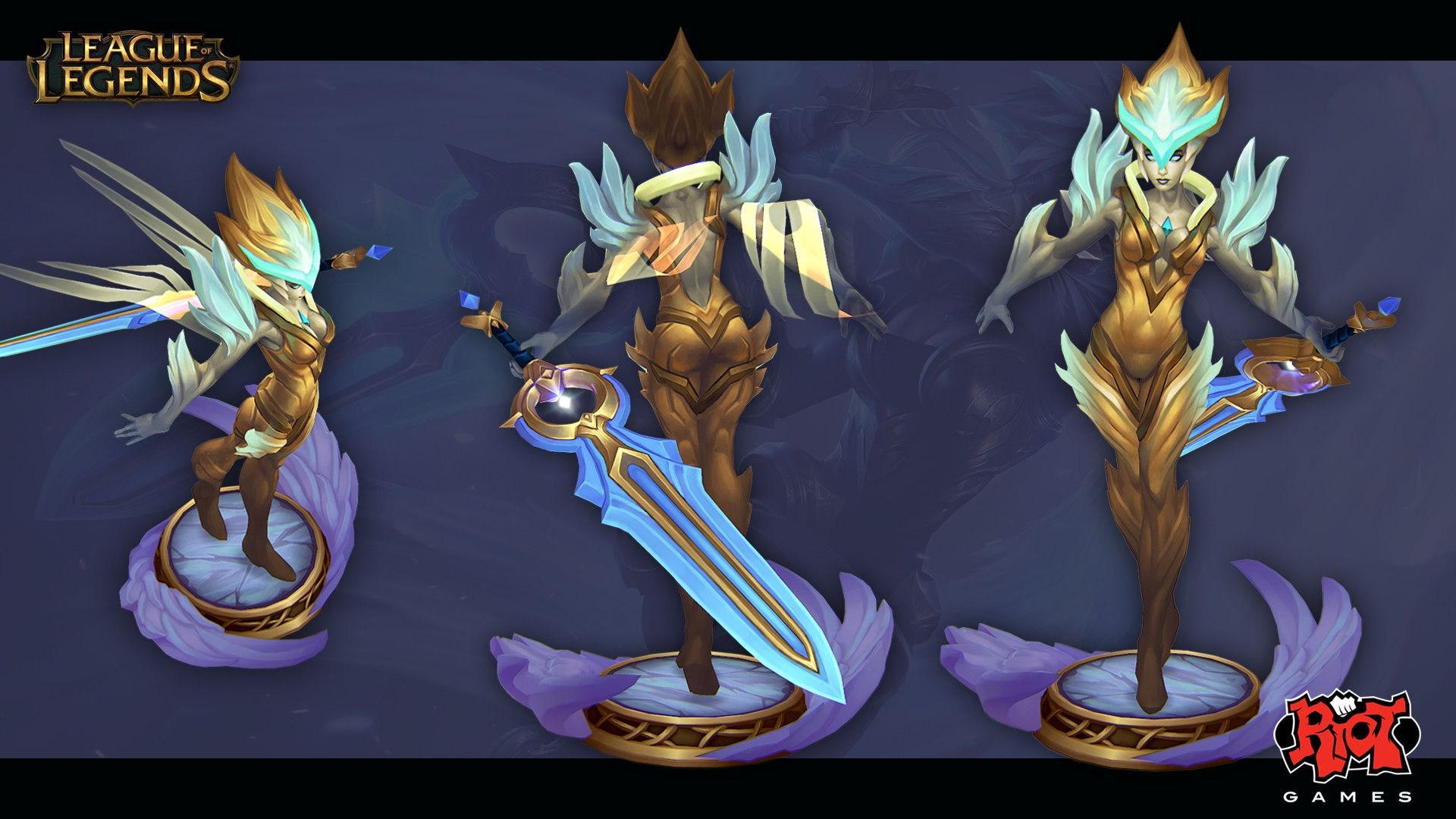 This Is Riven S Dawnbringer Skin For League Of Legends It Was A