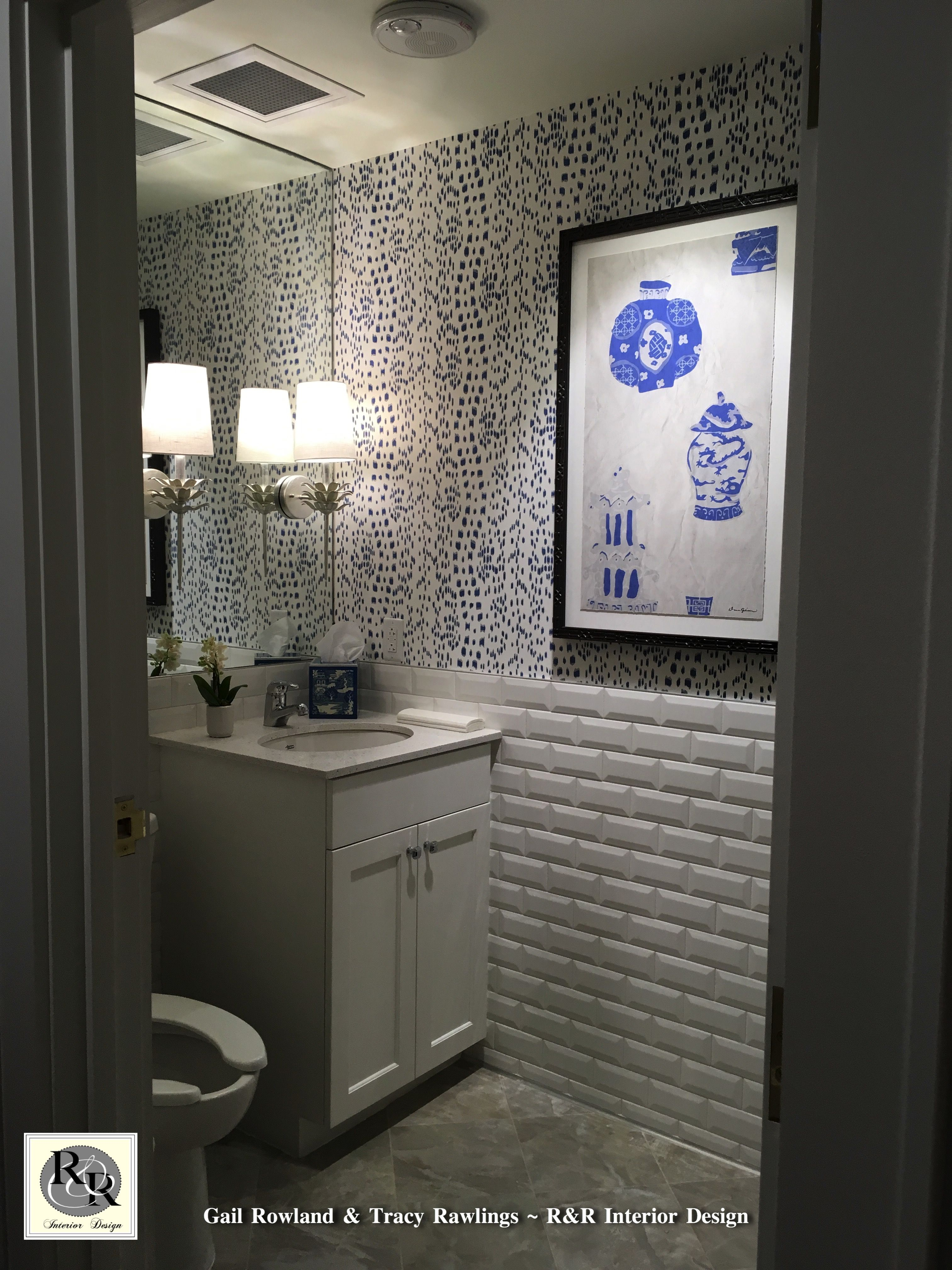 Powder room for the founding chapter of the beautiful new Chi Omega