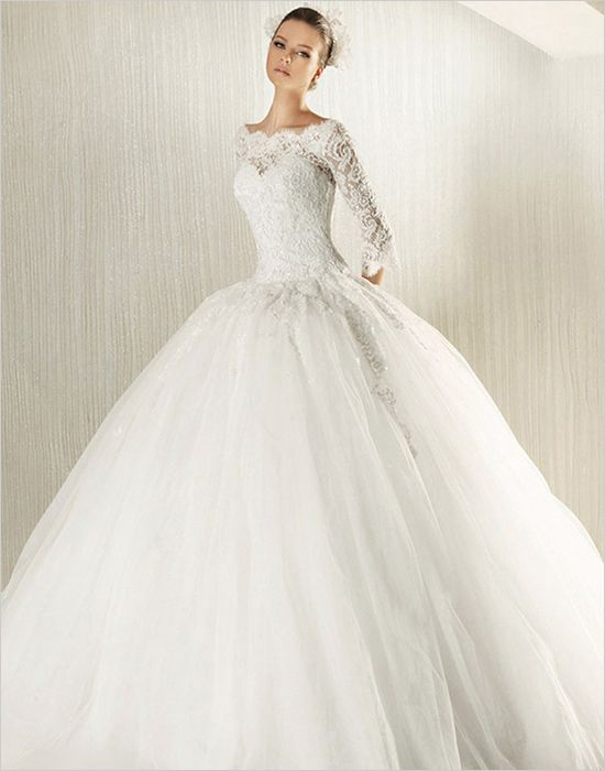 Top 10 Long Sleeve Lace Wedding Gowns Ball Gowns Wedding Modest