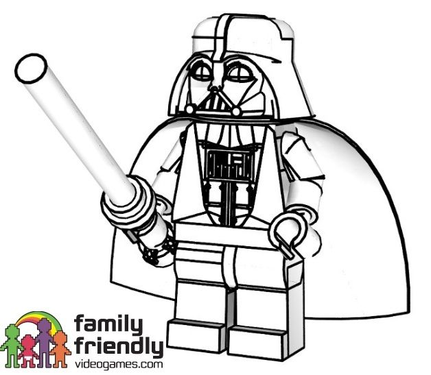 star wars lego coloring | George | Pinterest