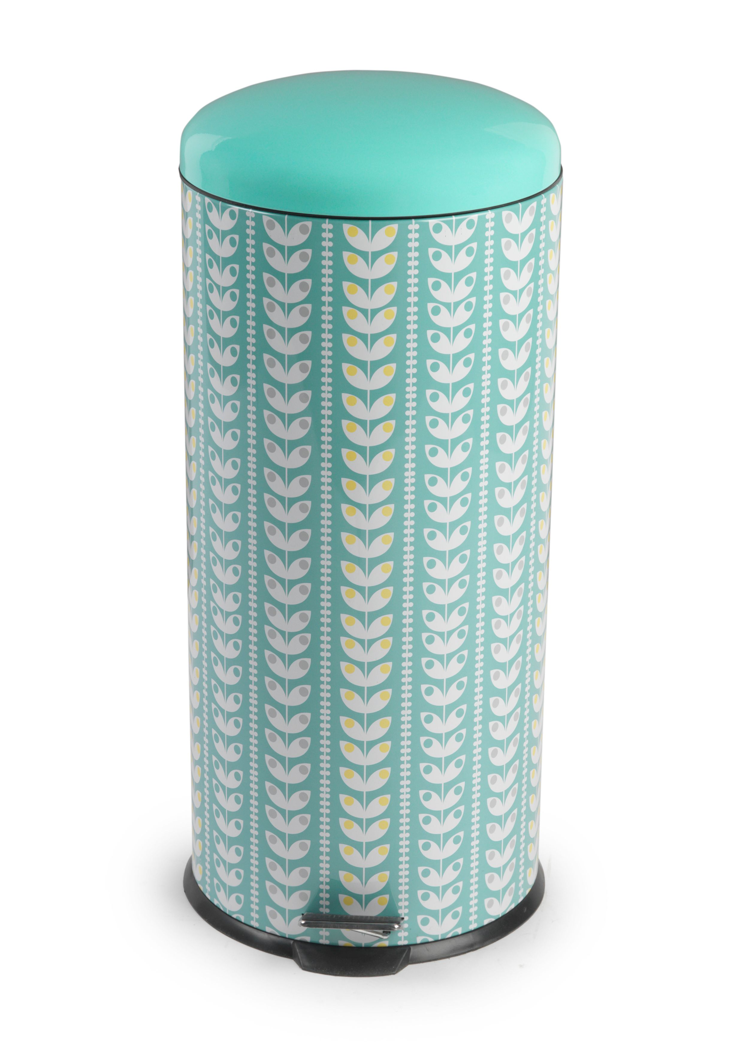 Salter Retro Leaf Pedal Kitchen Bin From The Cooks