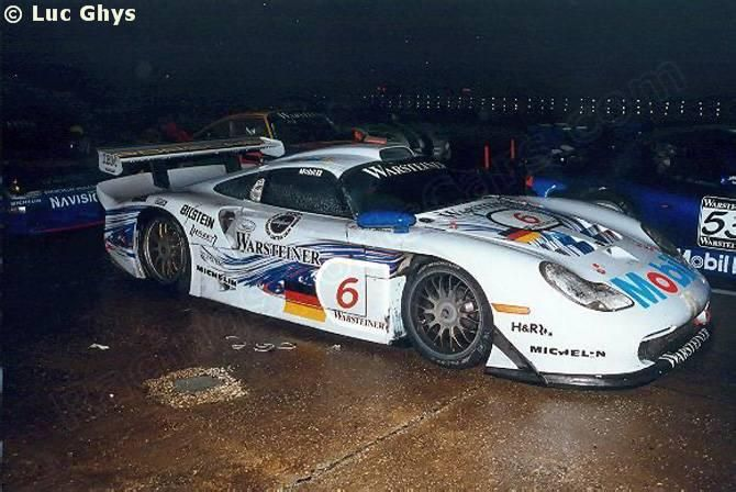 6 - Porsche 911 GT1 Evo #004 - Porsche AG FIA GT Championship Sebring 1997