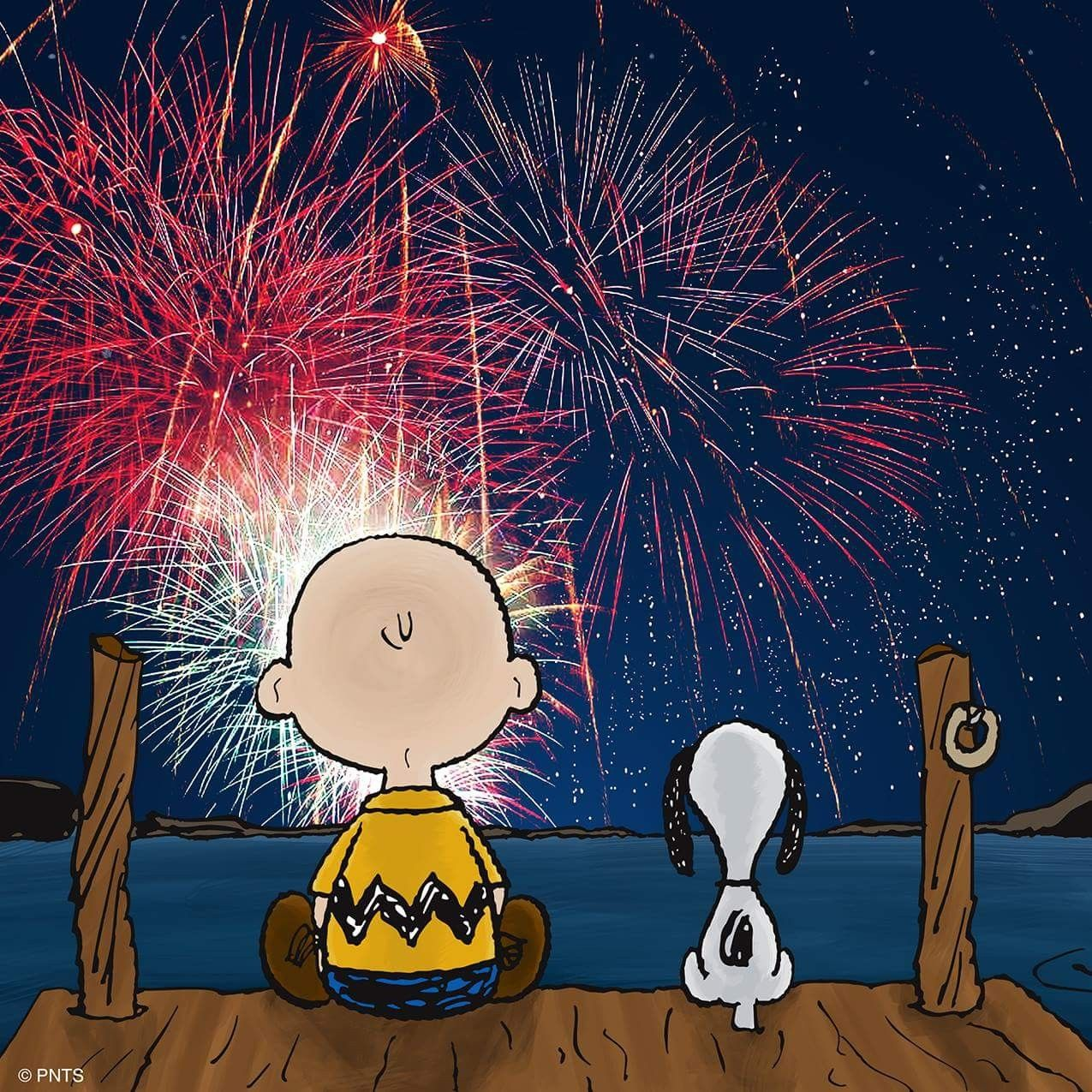 Happy 4th Of July Red White And Blue Pinterest Snoopy
