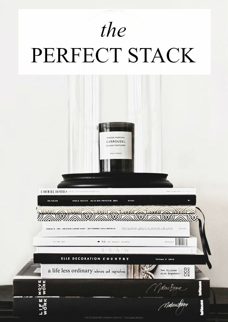 Top coffee table book picks to create the Perfect Stack Pretty