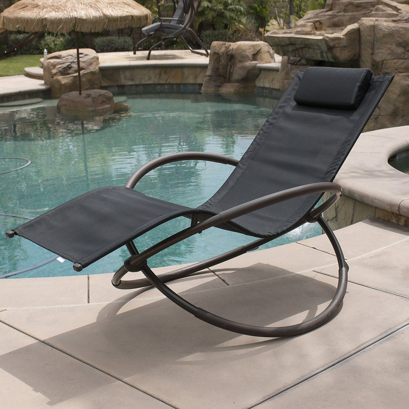 Orbital Chaise Lounge with Cushion (With images) Lounge