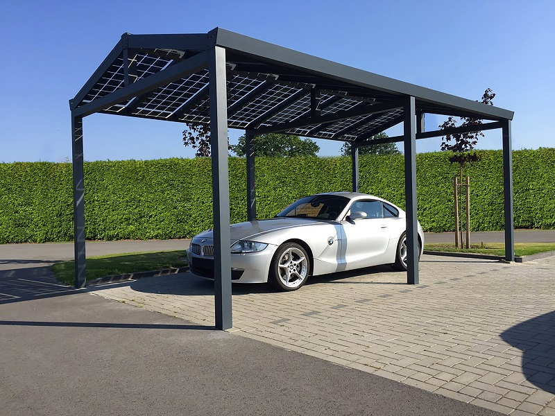 Solar Panel Carport Germans Encouraged To Roof Carports With Solar Panels Residential Solar Panels Solar Panels Roof Solar Pergola