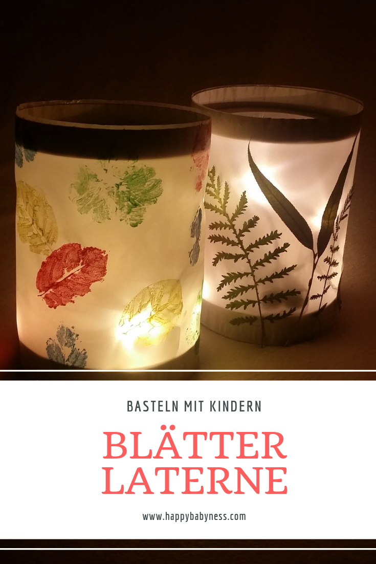 DIY Anleitungen SANKT MARTIN LATERNEN