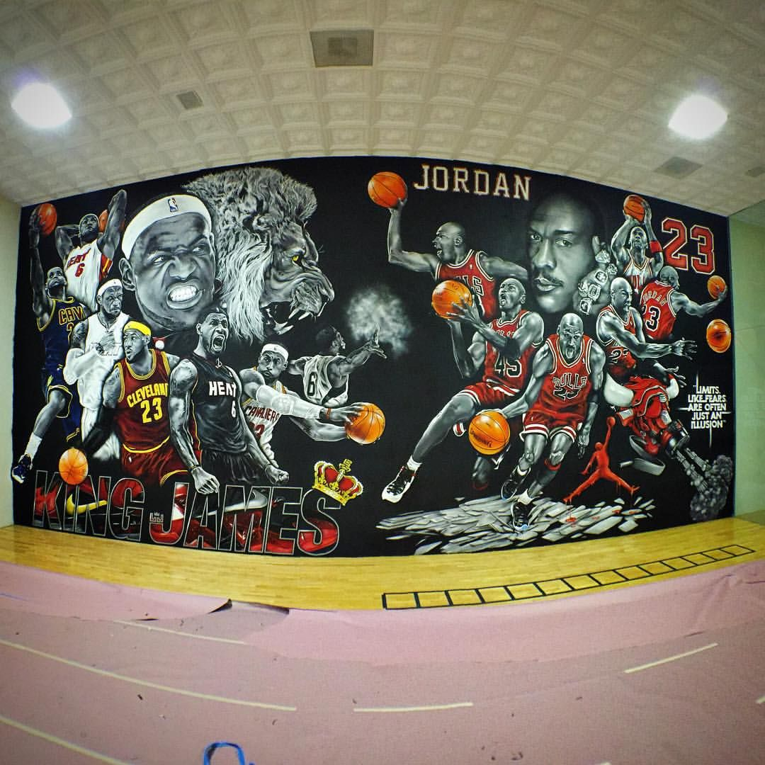Jay Mack On Instagram Panorama Shot Of The Right Side Of Rick Ross Indoor Basketball Court 2 Down Indoor Basketball Court Indoor Basketball The Incredibles