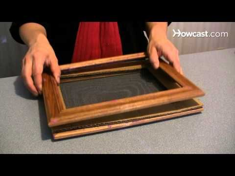 How to Make a Handmade Paper Picture Frame | Crafts & Hobbies ...