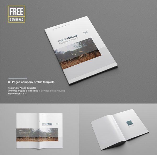 28 Epic Free Premium Mockup Psd Files Design Templates For 2015 Company Profile Template Business Portfolio Template Portfolio Templates