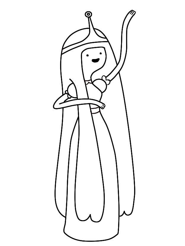 How To Draw Princess Bubblegum Adventure Time Draw Central Princess Drawings Adventure Time Coloring Pages Adventure Time Drawings