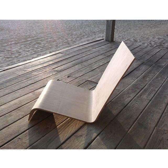 Chaise Longue En Bois Design Atelier Assis Autre Furniture