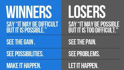 Winners vs Losers...