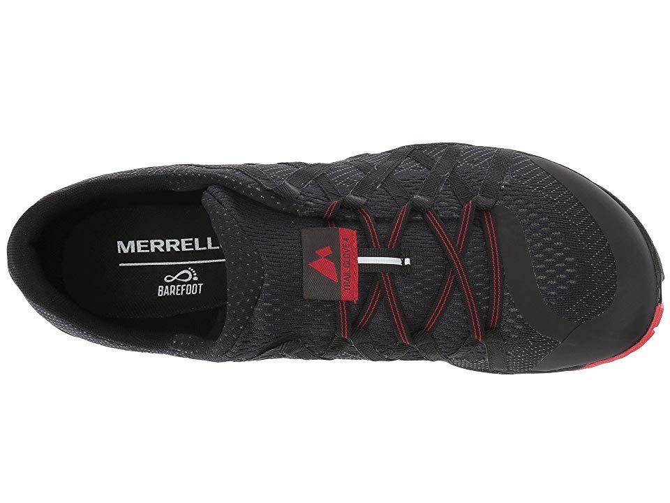 lowest discount best authentic new authentic Merrell Trail Glove 4 E-Mesh Men's Shoes Black | Black shoes ...