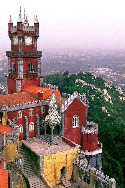 Palácio da Pena Sintra, Portugal
