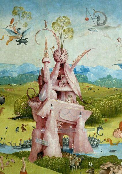 Jheronimus Bosch Tuin Der Lusten Detail Van 1000