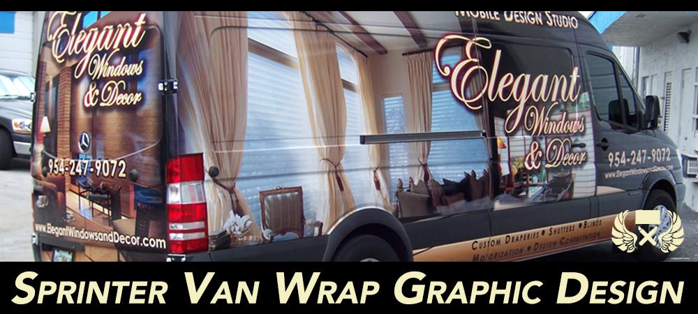 8669c6b550 Sprinter Van Graphic Design for Wraps   Graphics