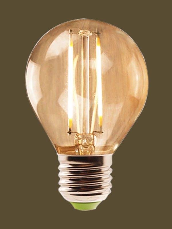 Lampada de Filamento LED G45 Retro Vintage Lâmpada retro