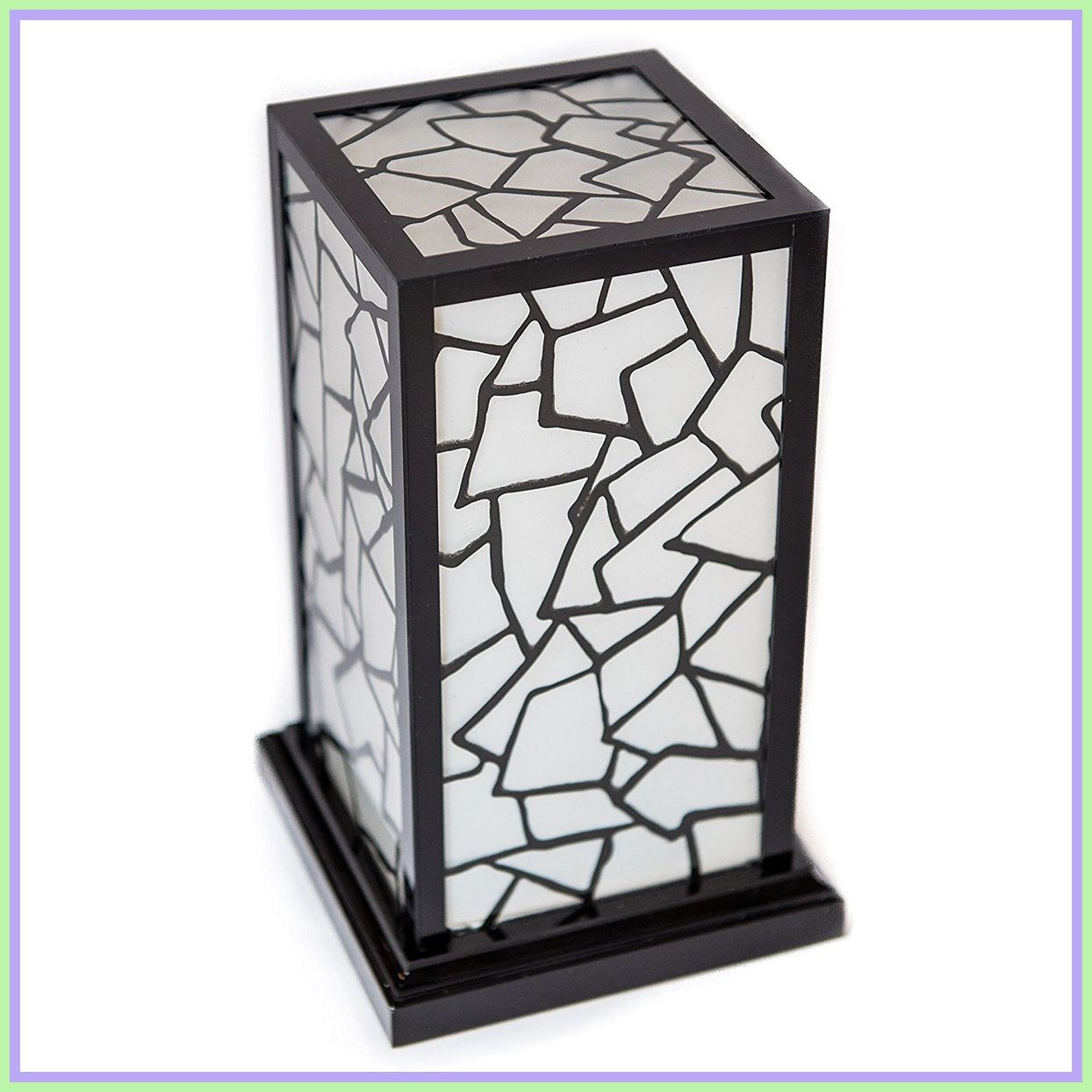Give your home a touch of elegance with a crystal lamp