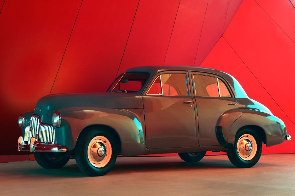 Essington Lewis 48-215 Holden car at National Museum of Australia ...