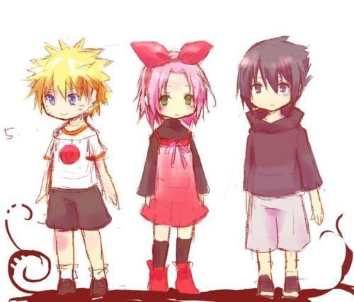 Naruto Shippuden Childhood Of Naruto Sakura Sasuke: Naruto, Sakura, And Sasuke As Children.