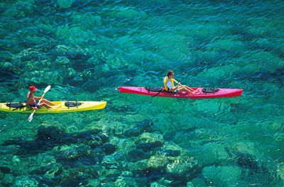 Tropical kayaking day trip | Hawaii | Baja california