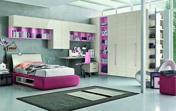 cameretta moderna | Home Design Inspiration | Pinterest | Ragazze ...