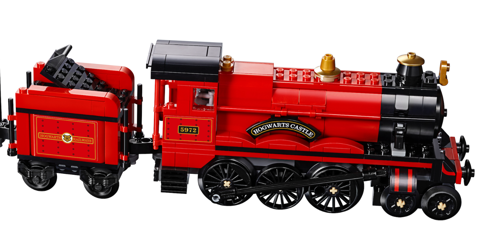 Lego Harry Potter Hogwarts Express 75955 Locomotive And Tender Train Only Trens