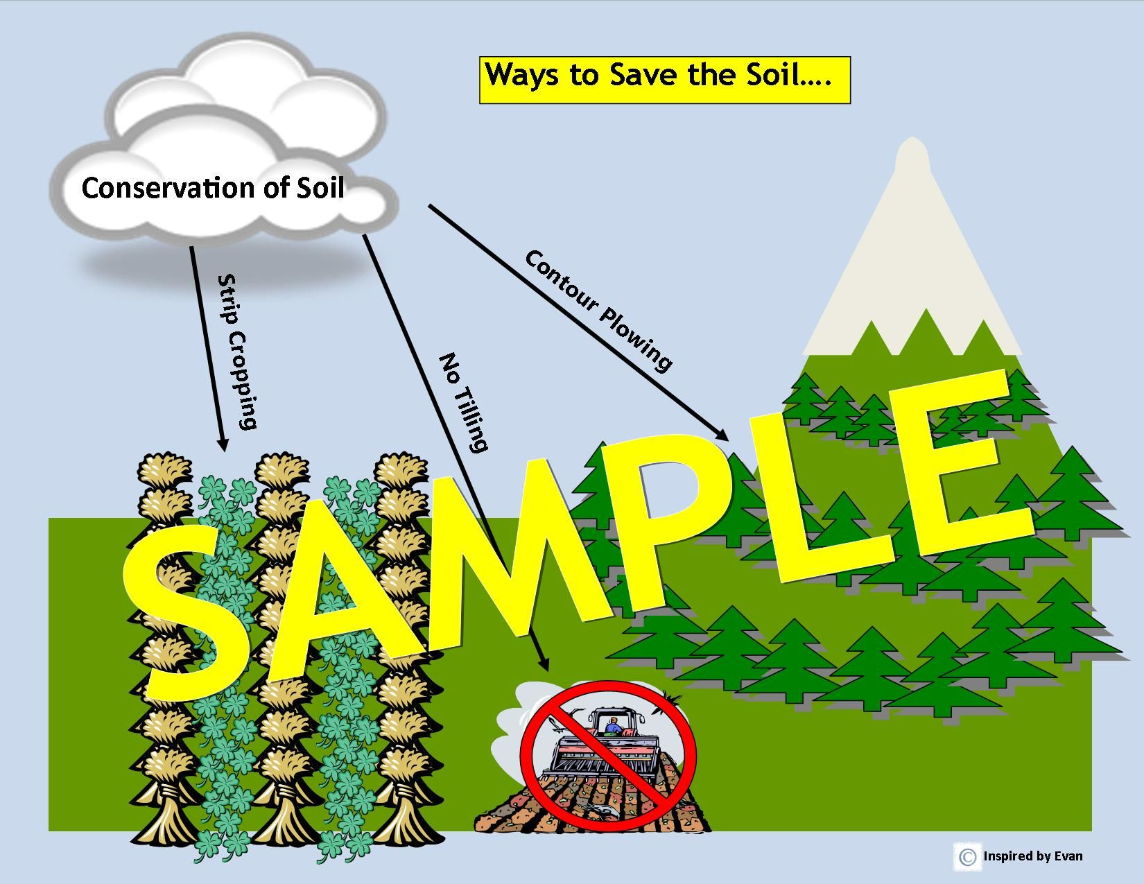 Soil Conservation Amp Soil Life Visual Tools Flashcards For