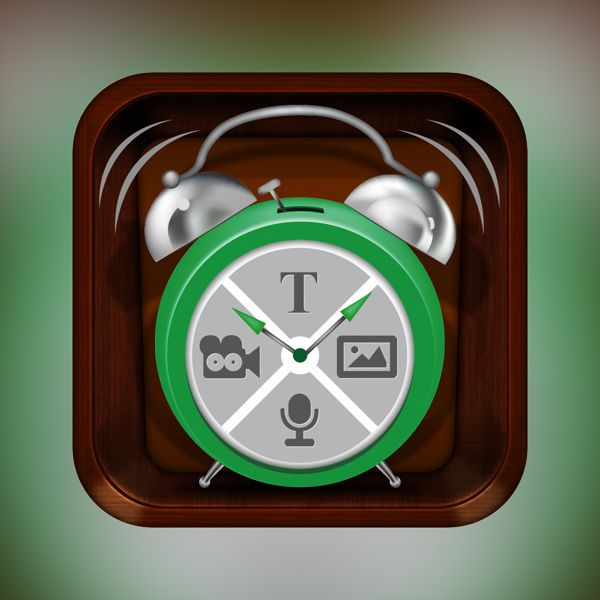 App Icon for Easy Reminders...!!! by Harshil Acharya, via