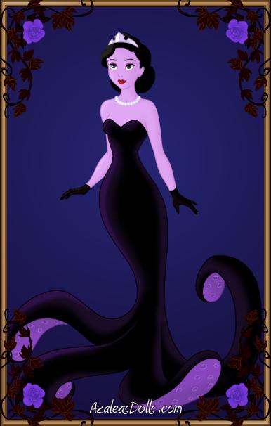 Young Ursula Disney B 246 Sewichte Zombie Princeasin