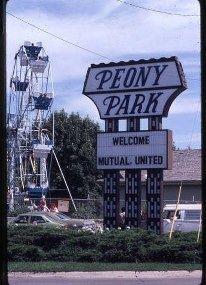 Peony Park Omaha Nebraska