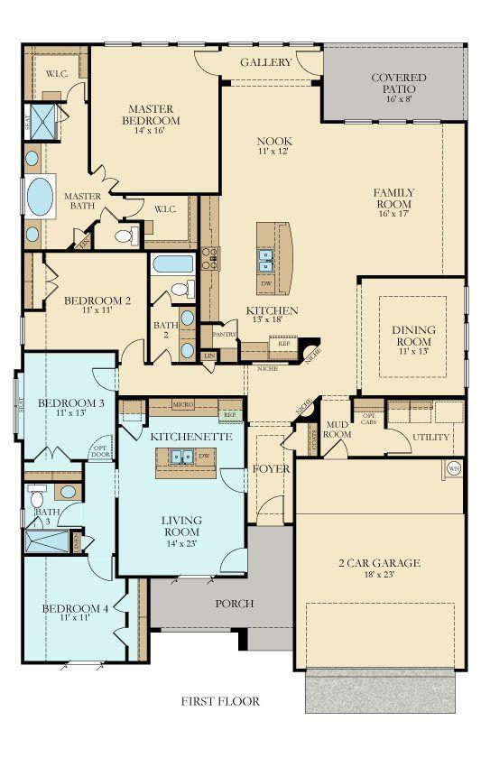 Lennar Corporation Multigenerational House Plans New House Plans Floor Plans