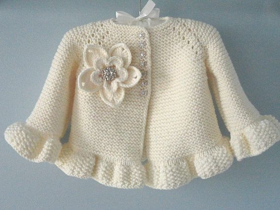 Photo of Knitting PATTERN Baby Jacket Crochet PATTERN Baby Dress Baby Cardigan Baby Girl …