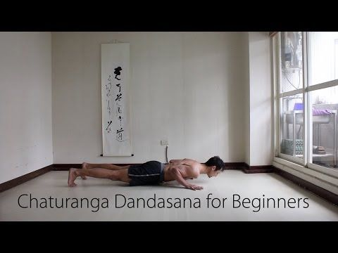chaturanga for newbies and yogis with weak arms  youtube