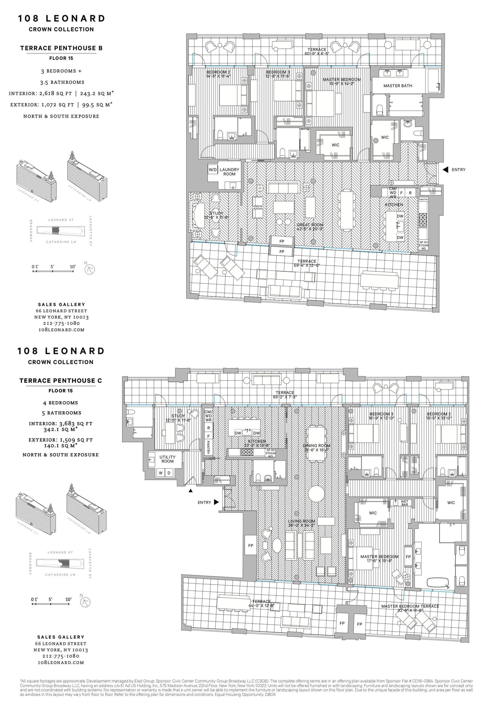 108 Leonard Crowne Collection Apartment Floor Plans City Living Apartment Floor Plans