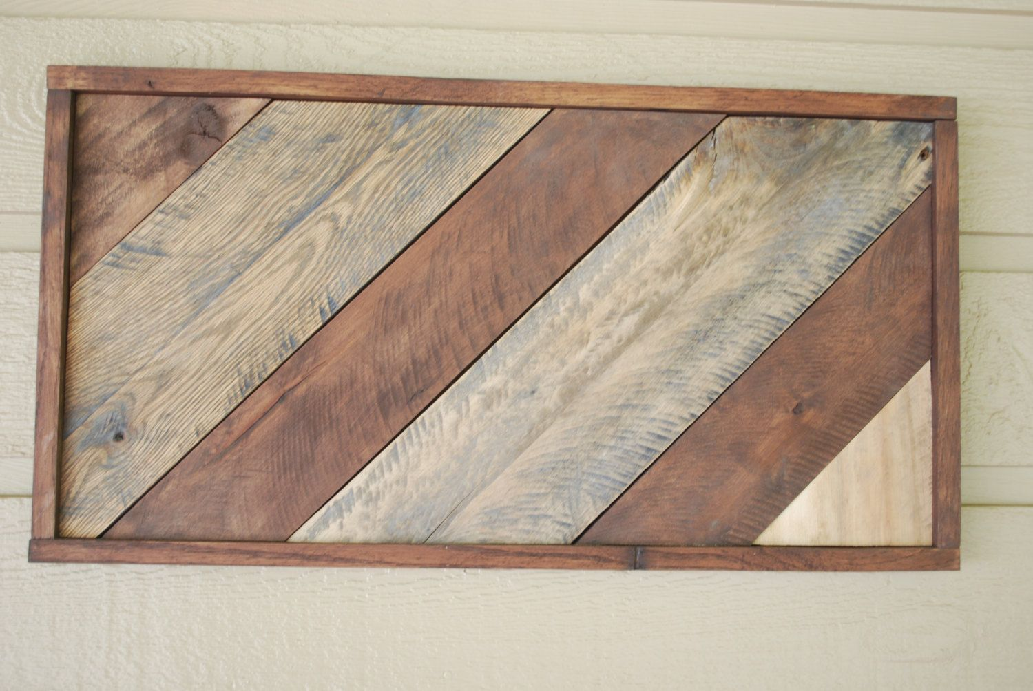 Rustic decorative wall art from pallet wood by ingrainedstudio