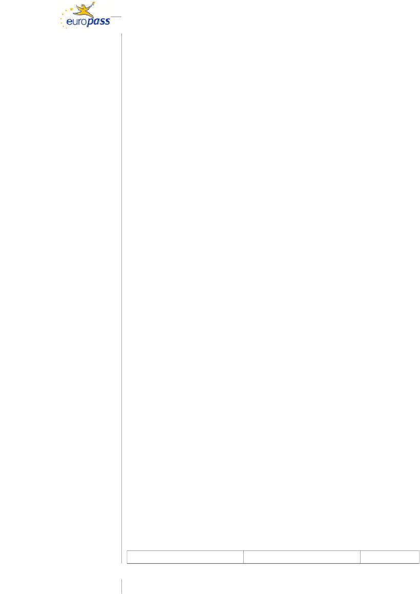 Shembull Cv Shqip 3 Cv Drita Pattern
