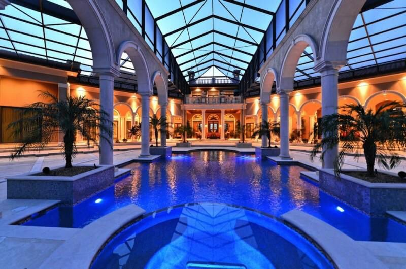Exceptional Indoor Pool At A Florida Mansion. Ideas