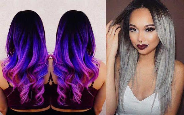 Color de pelo degradado 2018